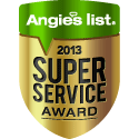 Angies Super Service Award Winner!